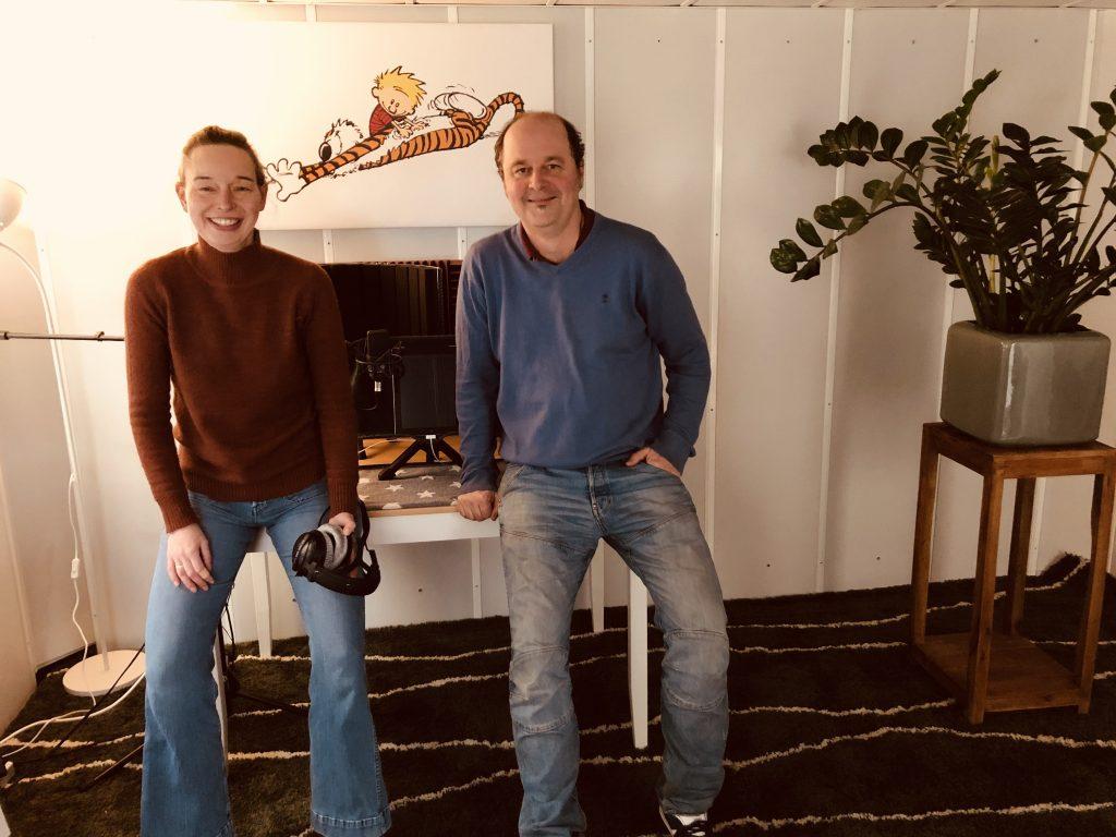 Anouk Boelsma en Stefan van Duyn