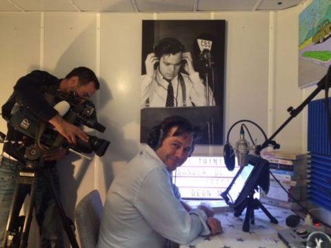 Sander de Heer in de Thinium studio RTL Nieuws 22 mei 2017