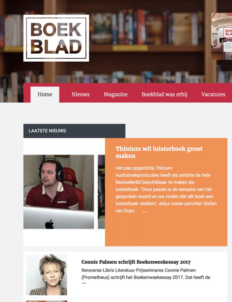 Boekblad